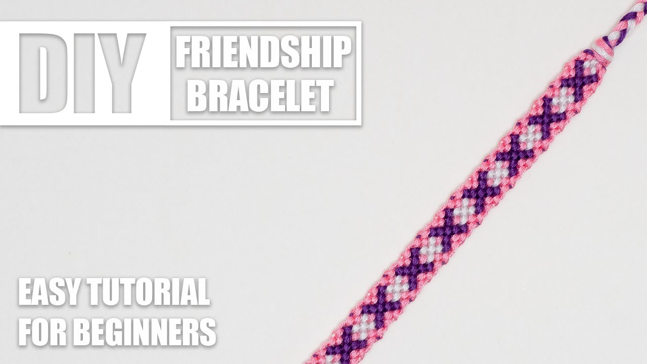 x crisscross friendship bracelet