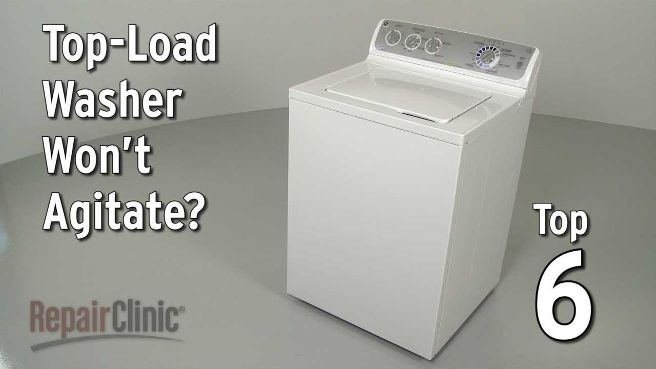TopLoad Washer Won't Agitate — Washing Machine