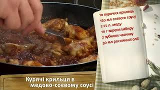 «БЫСТРЫЕ» КУРИНЫЕ КРЫЛЫШКИ В МЕДОВО-СОЕВОМ СОУСЕ. Рецепт блюда