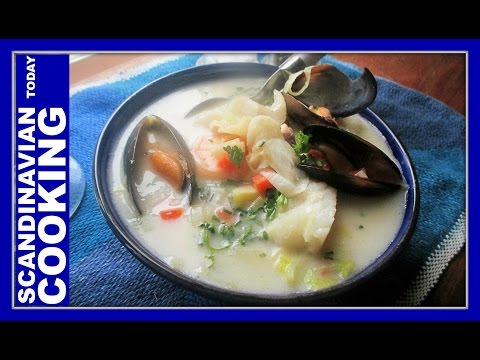 Norwegian Fish Soup Recipe