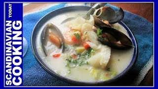 Norwegian Fish Soup Recipe