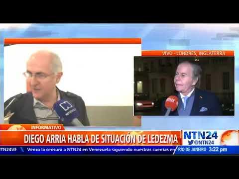 Diego Arria habló tras la salida de Antonio Ledezma hacia Colombia