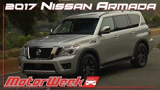 Road Test: 2017 Nissan Armada - New Platform, Better SUV?