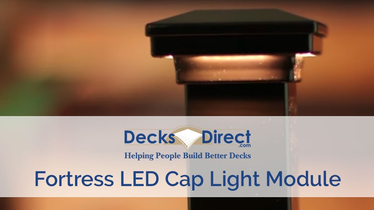 Cap Light Module By Fortress Accents