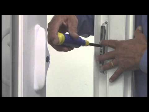 How to Adjust the Patio Door Keeper & How to Adjust the Patio Door Keeper - YouTube Pezcame.Com