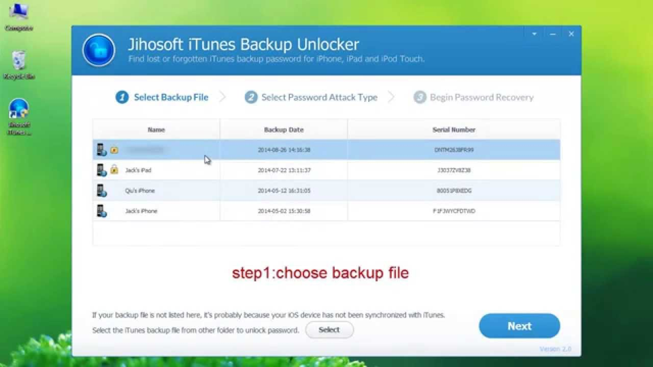 what is my iphone backup password how to recover itunes backup password 5164