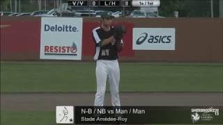 2013 Canada Summer Games - Men's Baseball - New Brunswick vs Manitoba