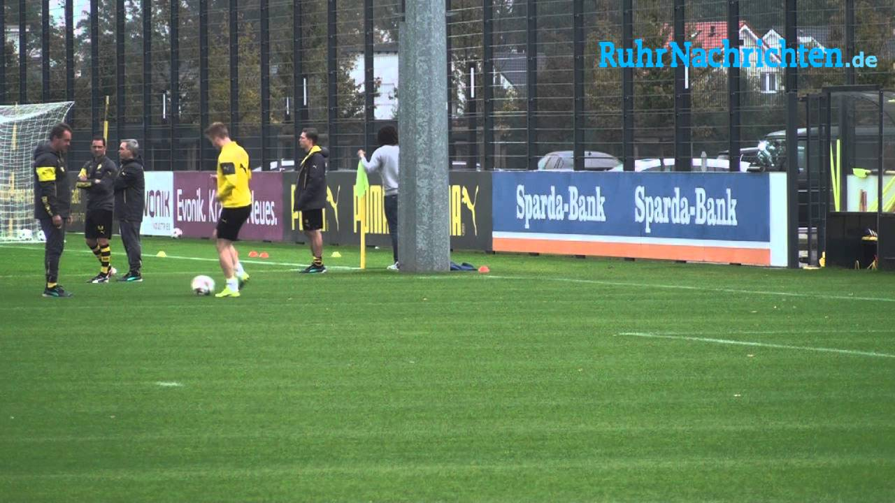 Marco Reus arbeitet an seinem BVB-Comeback