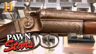 Pawn Stars: BIG $$$ or BUST for Damascus Steel Shotgun (Season 6) | History