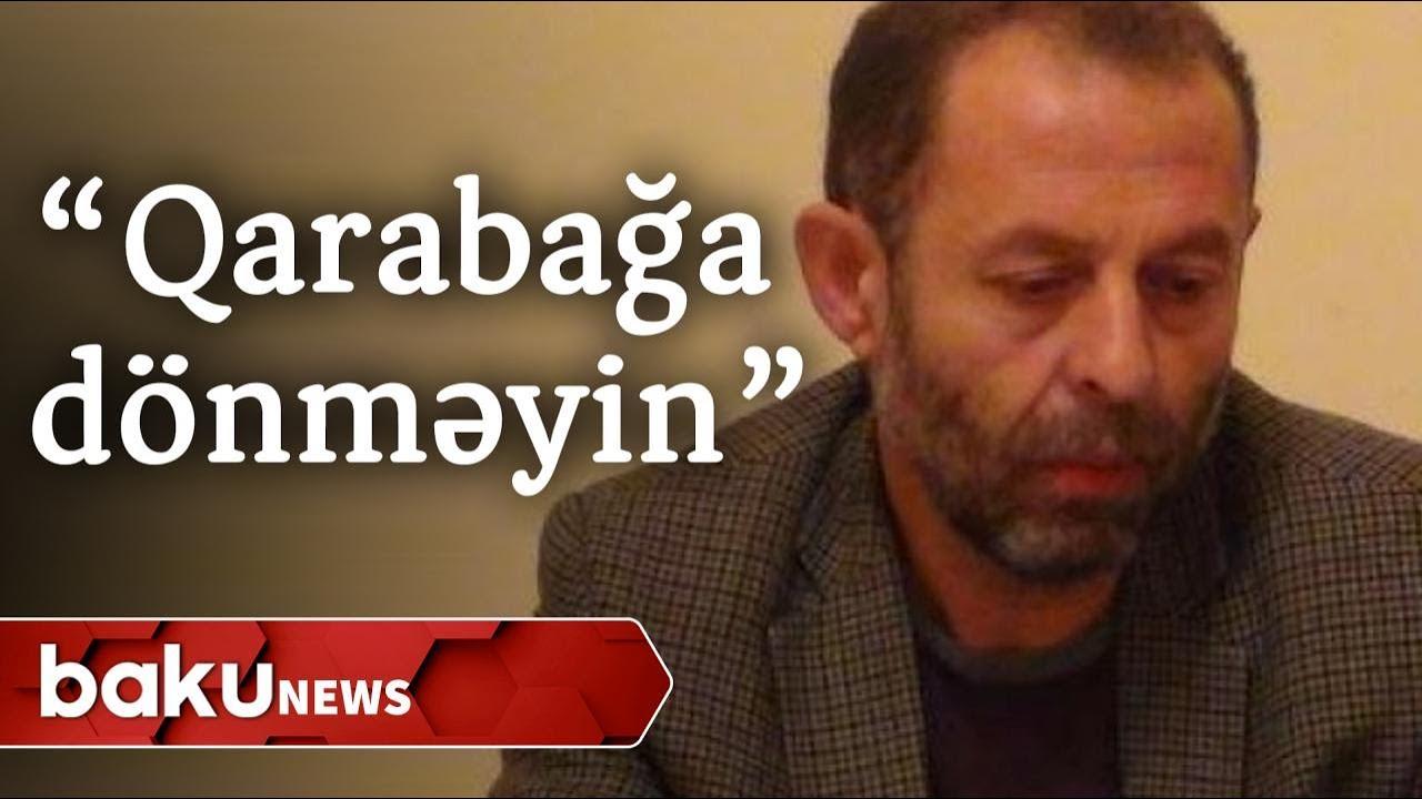 Erməni redaktordan çağırış: Qarabağa dönməyin