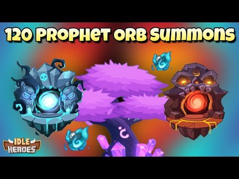 Idle Heroes (P) - 120 Prophet Orb Summons - Abyss And Shadow Faction!