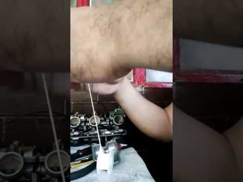 How to make a gasoline resistance gasket for carburetor using teflon tape or plumbers tape