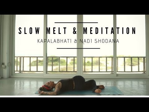 30 minutes yin yoga  meditation for stress neck pain and