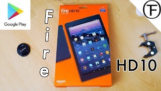 How To Install Google Play on Amazon Fire HD 10 Tablet. 😘