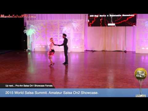 WSS15 Feb6. Amateur Salsa On2 Showcase. REC 1080p.