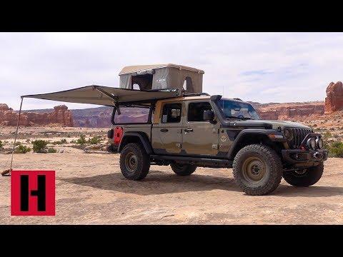 Jeep Gladiator Wayout Concept Walk Through