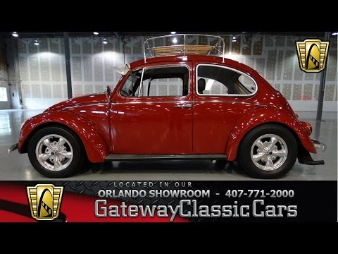 1966 Volkswagen Beetle Gateway Classic Cars Orlando #242