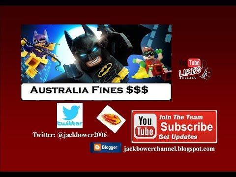 Australia Fines, Torrents Blocked 2017