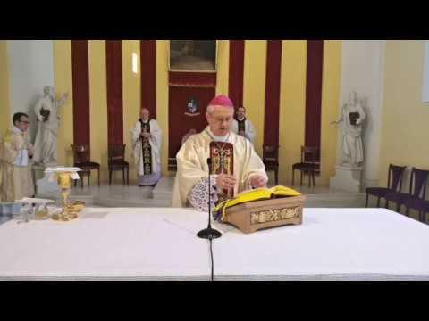 Gospićko-senjska biskupija - Biskup Križić predvodio misu Večere Gospodnje u gospićkoj Katedrali