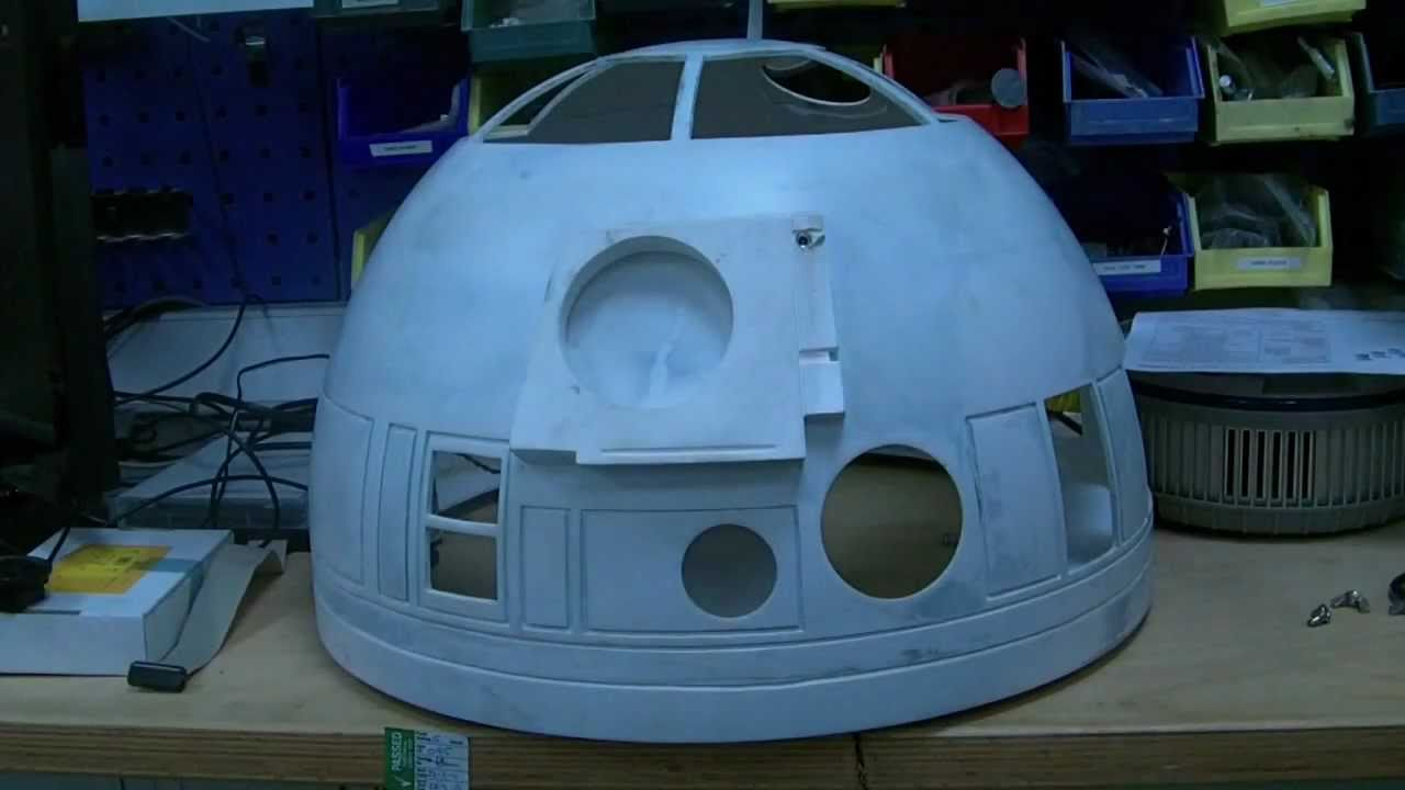 R2d2 Dome Rotate Youtube