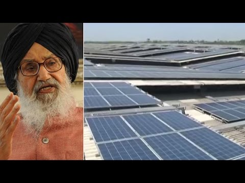 World's largest single rooftop  solar power plant  inaugurated in Punjab