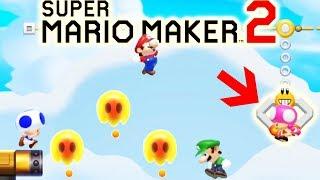 Epic Trolling in Super Mario Maker Multiplayer! (8-Win Streak, Super Mario Maker 2)