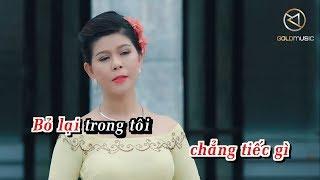 Karaoke Bolero 2019  Xin Yêu Tôi Bằng Cả Tình Người - Ngọc Thảo   Tone Nữ