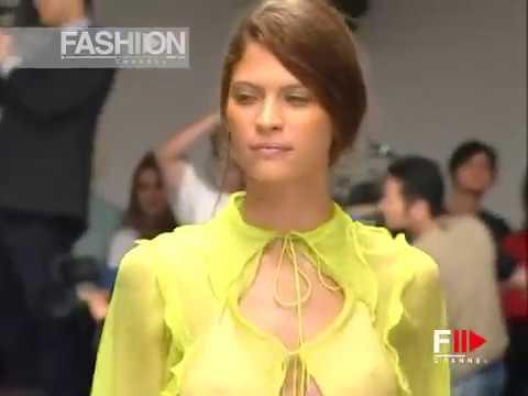 FENDI Spring Summer 2000 Milan - Fashion Channel
