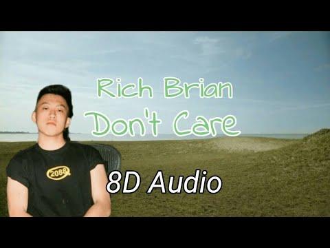 Rich Brian – Don't Care | 8D Audio