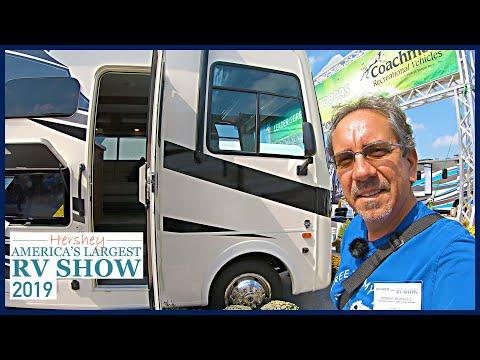 Hershey RV Show 2019: Curious Looking Coachman Class C And The Class A Mirada