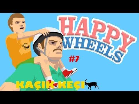 Happy Wheels Oynuyorum #7 Altıma Sıçtım !