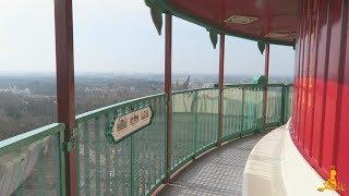 informatiebordjes in de pagode efteling