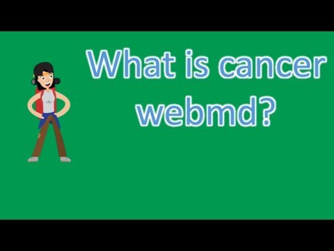 What Is Cancer Webmd ? |Frequently Ask Questions On Health