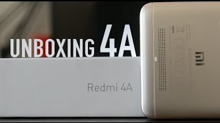 Xiaomi Redmi 4A (Gold) UNBOXING: Initial Impressions, Build, Software Specifications Explained