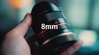 브이로그를 위한 광각렌즈 끝판왕 (8mm fish eye lens)
