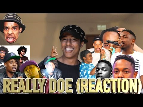 Really Doe - Danny Brown First Reaction