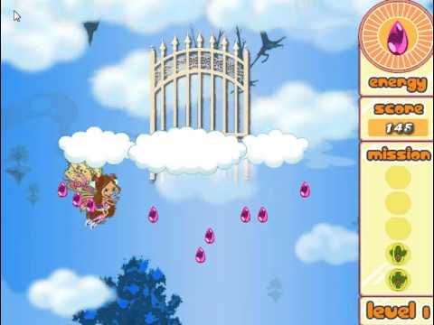 Winx Club Flora Belieuix (Бродилки для девочек: Флора Беливикс) - прохождение игры