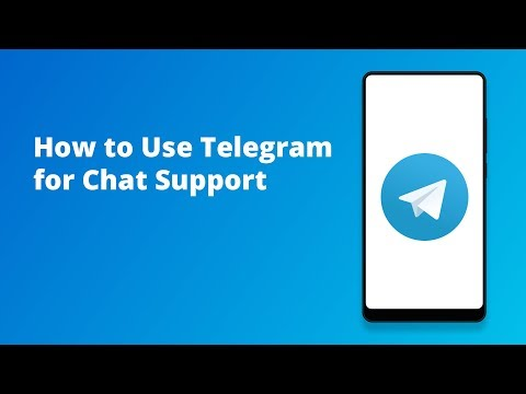 How To Use Telegram For Chat Support