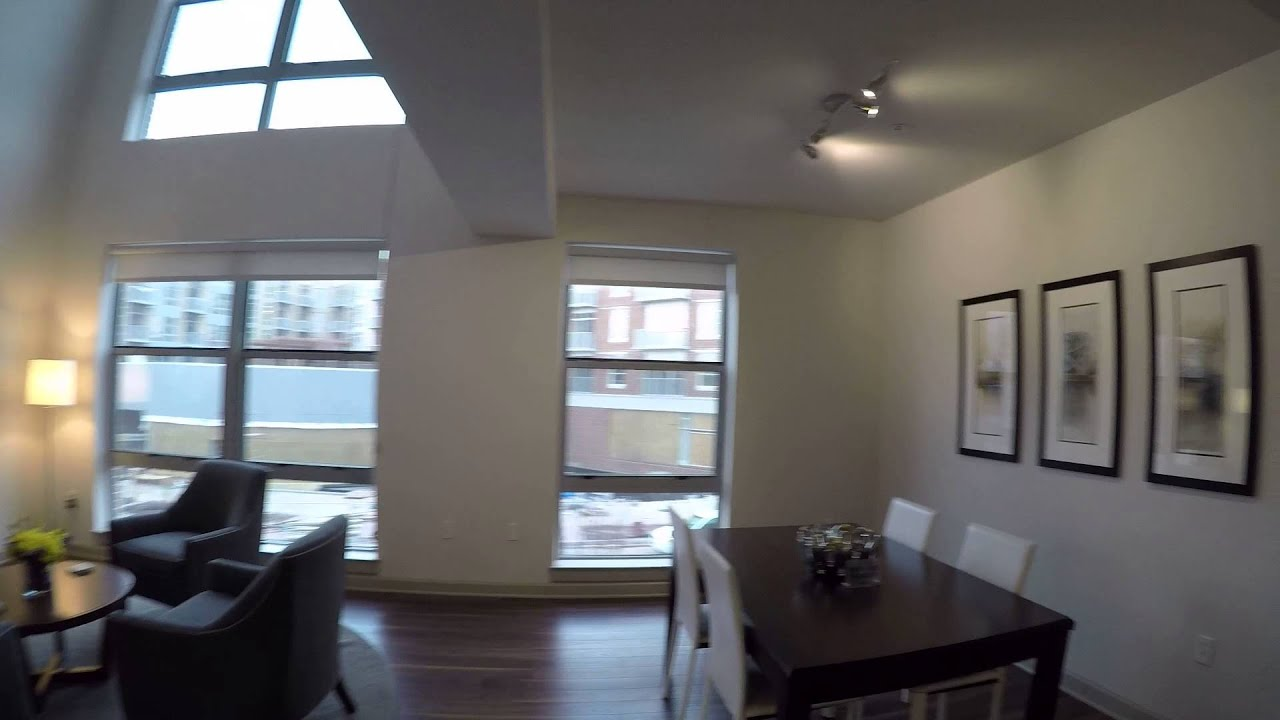 Cathedral Commons One Bedroom W Den Loft Model Apartment Home