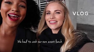 Mihlali N and I cooked our own event lunch 🍴