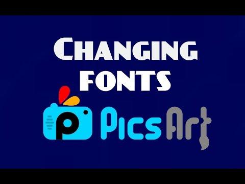 Adding Fonts - Picsart | Clash of clans font