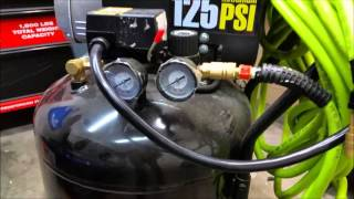 harbor freight 21 gallon air compressor 67847