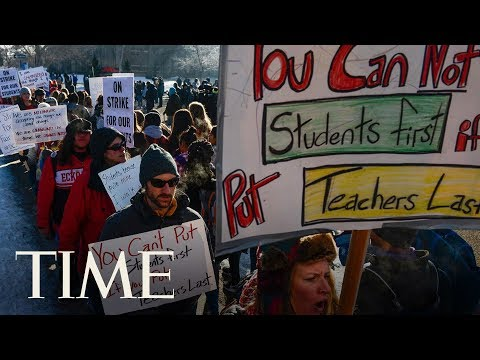 Denver Teachers Go On Strike After Failing To Reach A Deal On Pay | TIME