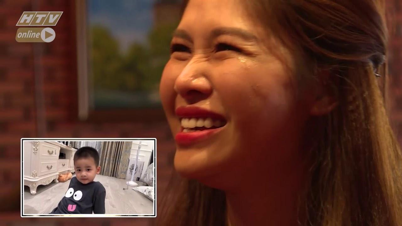 image Vợ Đăng Khôi bật khóc trước món quà của chồng | HTV TRĂNG MẬT DIỆU KÌ | TMDK #3 | 10/9/2018