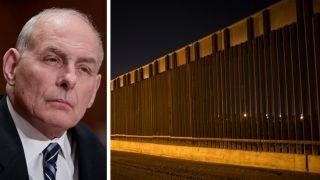 Kelly says border wall construction may begin this summer