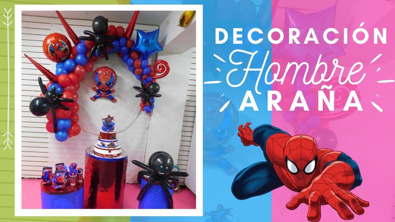 Decoración Hombre Araña Spiderman Decoration Youtube