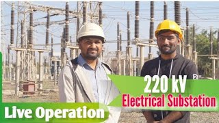220kV / 66 kV Electrical Substation All Explained | Live Tour 🔴