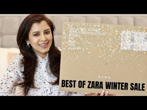 zara winter sale haul and try on january 2019 youtube. Black Bedroom Furniture Sets. Home Design Ideas