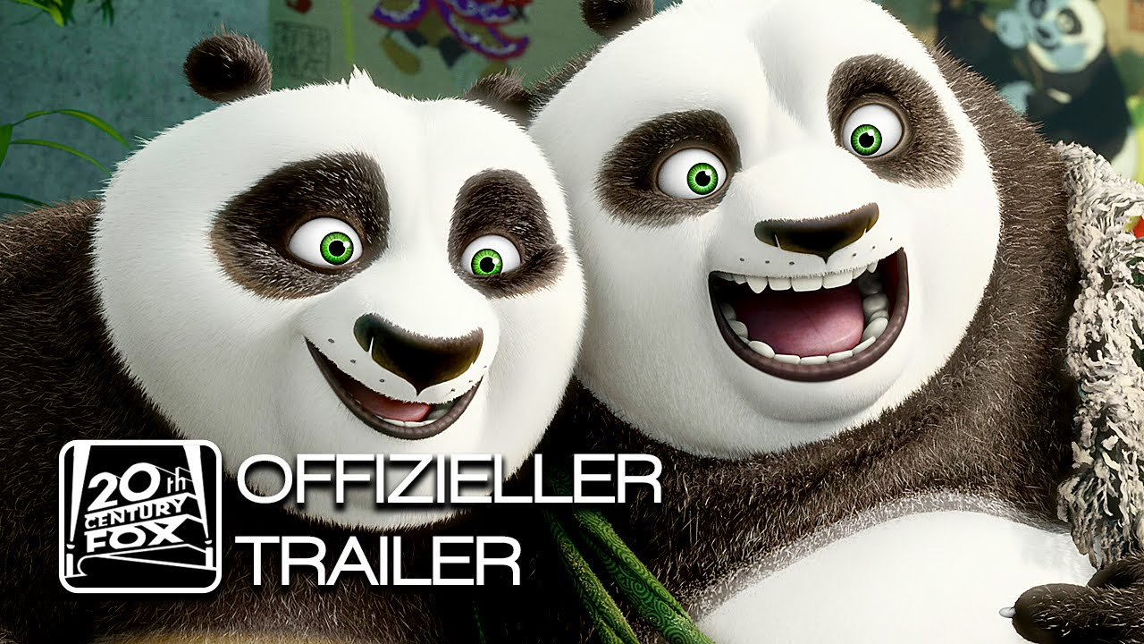 Kung Fu Panda 3 Trailer 1 Deutsch German Hd Youtube