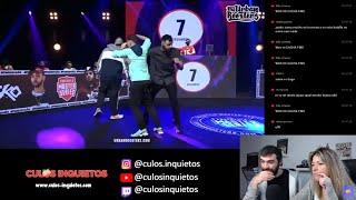 🔥 Reacción Zasko VS Mr Ego y Highlights de FMS Perú 2020
